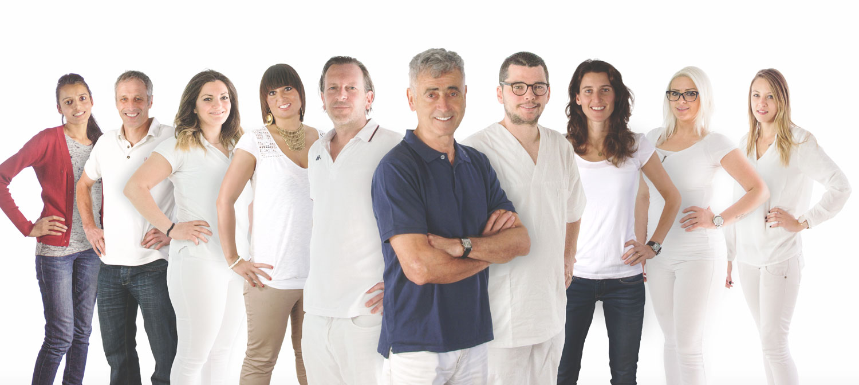 Team-Foto Dr. Tresnak